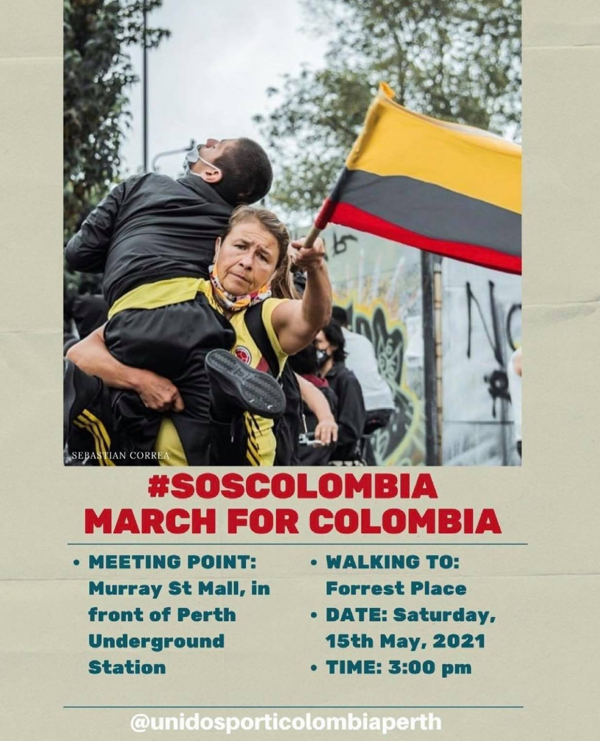 Colombia protests violence
